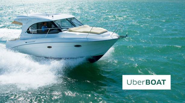 164 Uber Launch New Speedboat Service