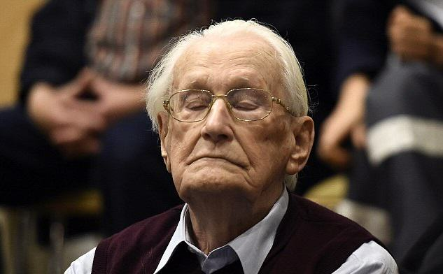 230 The 94 Year Old Bookkeeper Of Auschwitz Is Jailed For 4 Years For Helping Murder 300,000 Jews