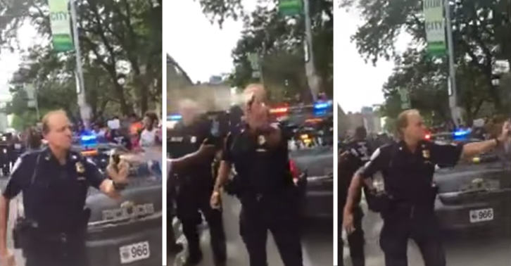 Cop Filmed Pepper Spraying Attendees Of Police Violence Protest 55b609f968462