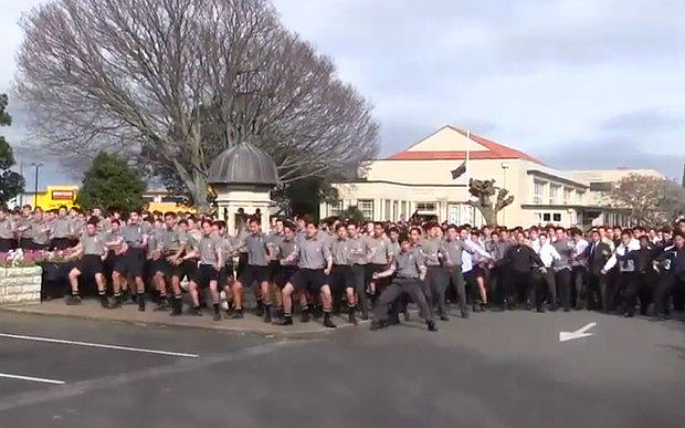 55b695503357f Entire School In New Zealand Perform Touching Haka Dance At Teachers Funeral