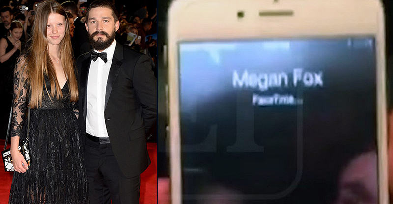 55b797c4acb82 Shia LaBeouf Facetimes Megan Fox After Drunk Fight With Girlfriend