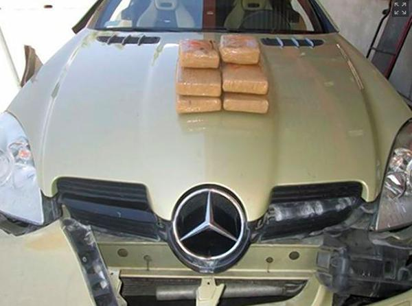 Model Attempts To Flirt $134k Worth Of Cocaine Across The Border, Fails 55b8e53a57981