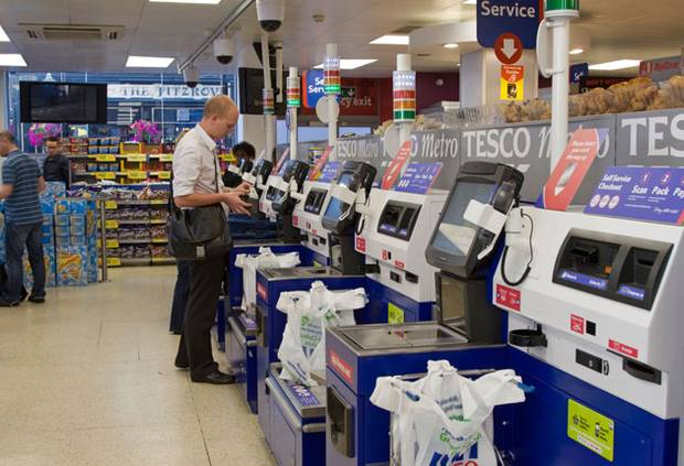 Tesco Drops Annoying 'Unexpected Item In Bagging Area' Phrase At Self Checkout