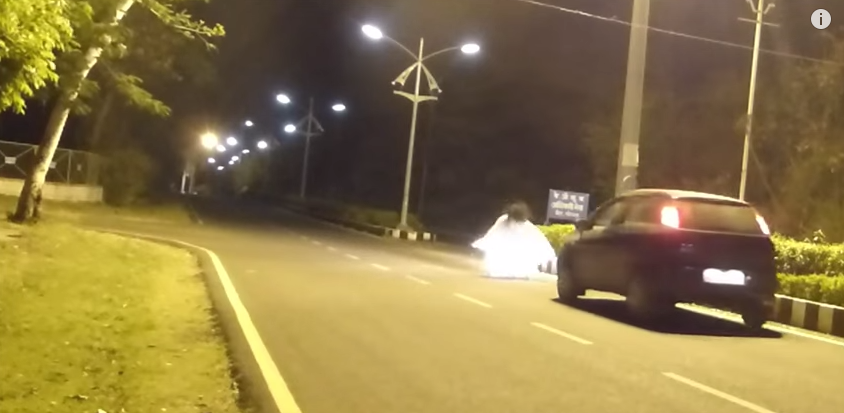 800e33dd96b89fda3ecb2fc49c20f9fb Man Is Run Over During Ghost Prank That Goes Horrifically Wrong