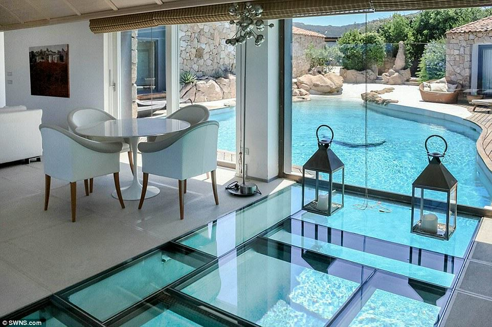 SWNS 1 This £10 Million Villa Is The Ultimate Pool Party Venue