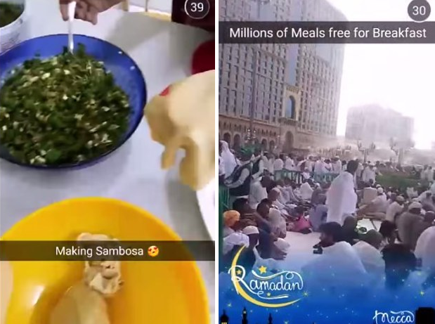 Snapchats Unbiased Mecca Live Stream Shows True Side Of Islam Screen Shot 2015 07 14 at 13.49.09