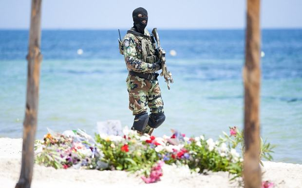 Tunisia soldiers b 3358573b Police Arrest 12 Suspects In Tunisia Terror Attack Investigation