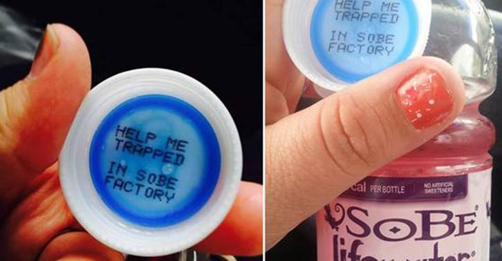 bottle fb Messages From Trapped Factory Workers Keep Being Found Inside Bottles