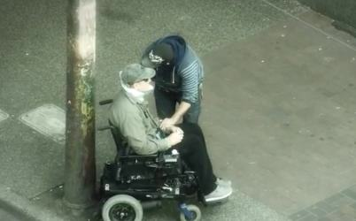 Canadian Officer Goes Undercover As Man In Wheelchair, Look At These Reactions cada