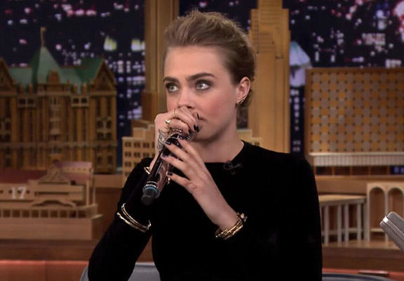 cara beatbox WEB Cara Delevingne Actually Has Some Incredible Beatboxing Skills
