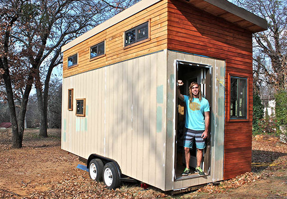 debt free web College Student Builds Tiny Home To Graduate Debt Free