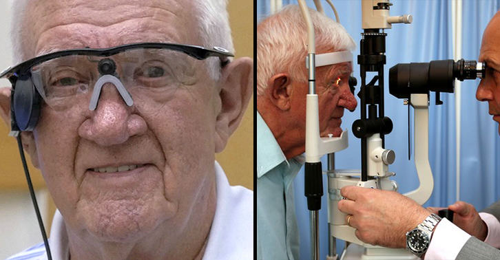 eyefacebook History Made As 80 Year Old Gets First Ever Bionic Eye