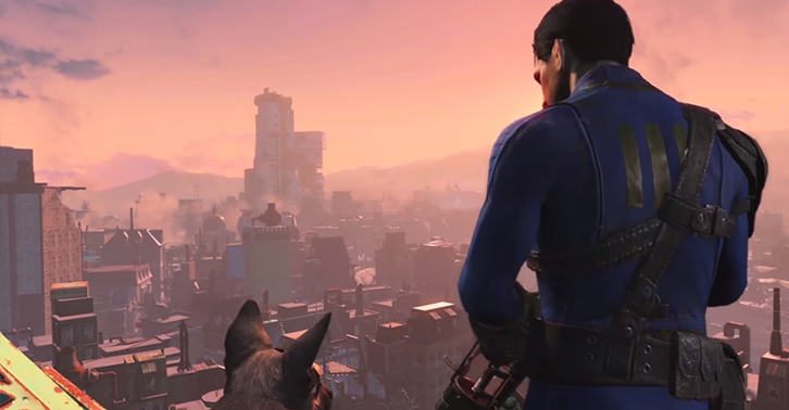 falloutfacebook New Fallout 4 Gameplay Footage Has Been Revealed And Its Magnificent