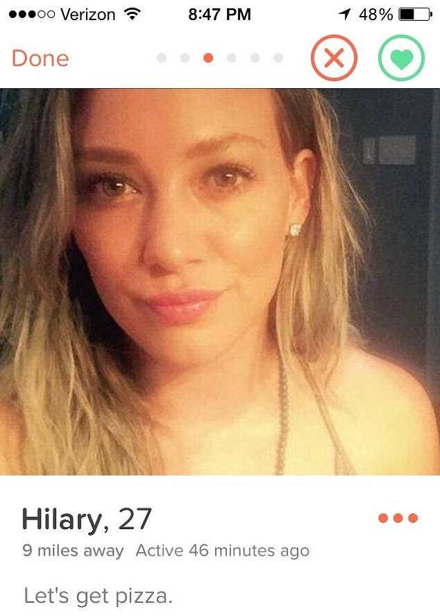 hilary duff 2 Hilary Duff Has Quit Tinder After Seven Guys Actually Rejected Her