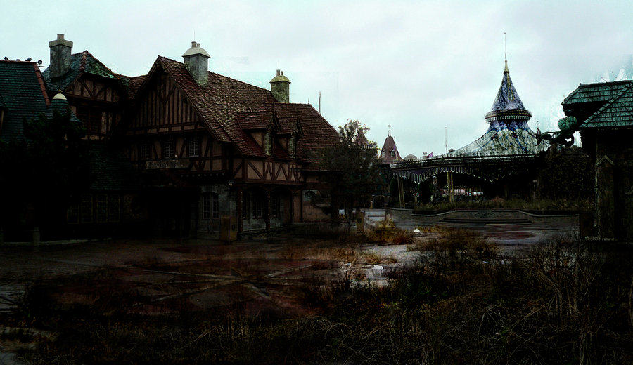 lifeafterdisney  fantasy land by eledoremassis02 d38tc9g These Images Of A Post Apocalyptic Disney World Are Actually Really Disturbing