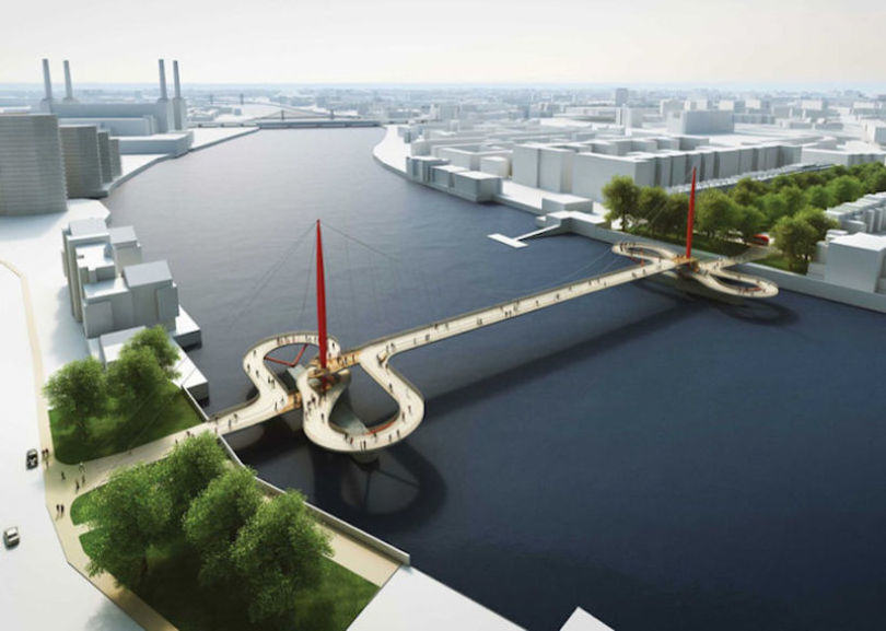 london cycle bridge 2 Here Are The Final Four Designs For Londons New Cycle Bridge