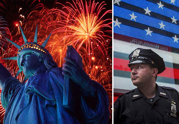nyc july WEB Increase In Security At NYC Fourth Of July Celebrations After Terror Threat