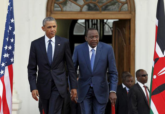 Kenyas President Definitely Doesnt Agree With Obama On Gay Rights obama kneya