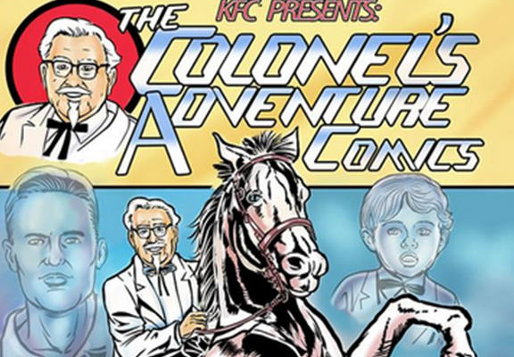 sanders web KFC Are Launching A Comic Book And Colonel Sanders Is The Star Of The Show