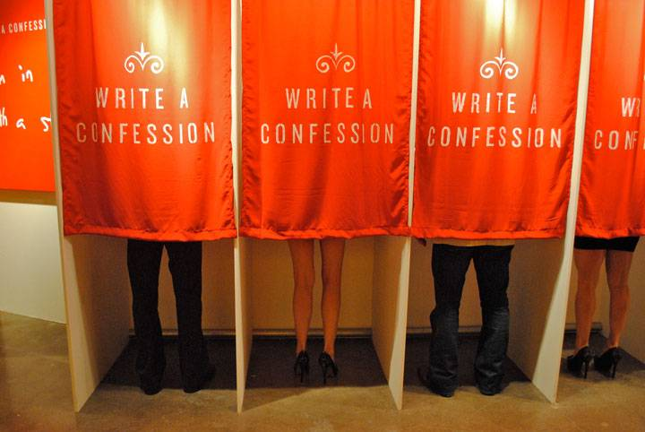 secrets4 Art Project Asking People To Confess Their Darkest Secrets Is Exactly Like You Might Expect