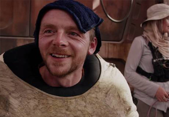 simon pegg WEB Simon Pegg Is In Star Wars: The Force Awakens, After All