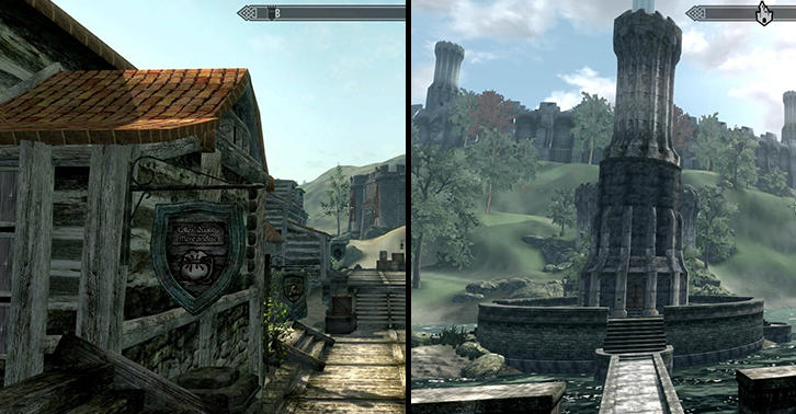 skyblivionfacebook Fans Have Created Oblivion In Skyrims Engine And It Looks Superb
