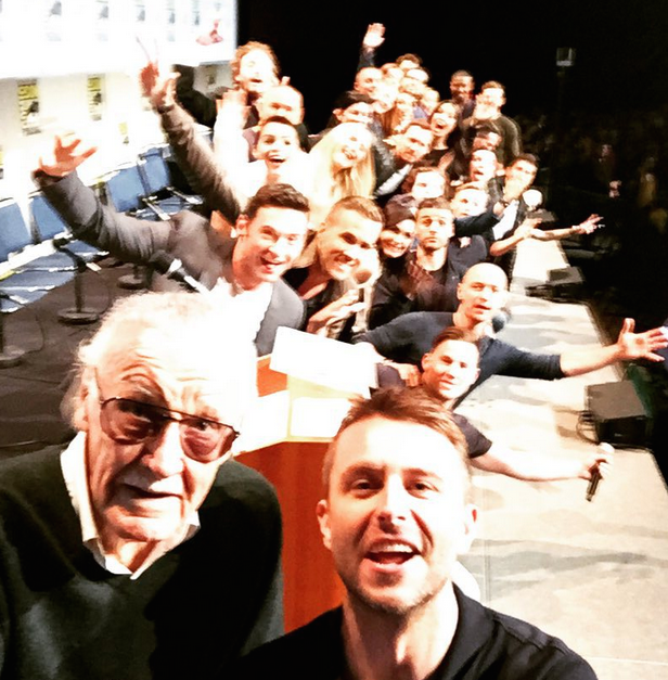Quite Possibly The Best Superhero Selfie Ever Was Taken At Comic Con superhero1