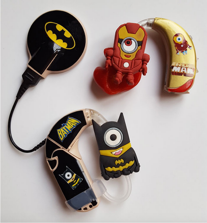 superhero3 Mother Designs Amazing Hearing Aids For Kids Using Superheroes