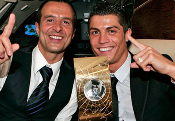 The Perks Of Being Cristiano Ronaldo's Agent Are Unreal