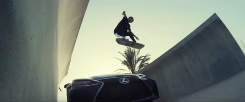 QorF19kDS Lexus Reveal Footage Of Their Hoverboard In Action