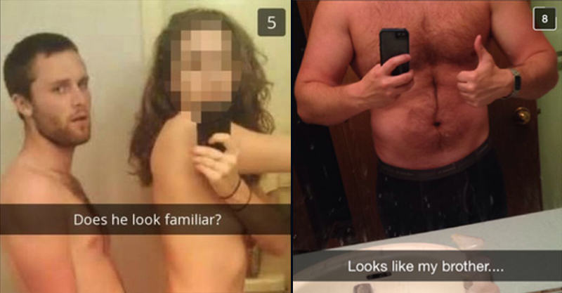 UNILAD 154 Cheating Girlfriend Snapchats Boyfriend, Accompanied By His Brother