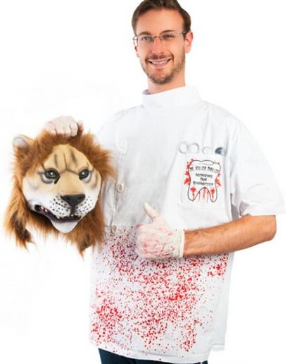 UNILAD 22 Cecil The Lions Killer Dentist Is Now An Actual Fancy Dress Costume
