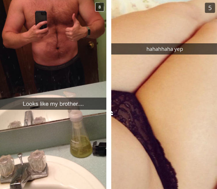UNILAD 231 Cheating Girlfriend Snapchats Boyfriend, Accompanied By His Brother