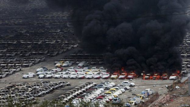 UNILAD 84906896 028565329 13 Fires In Tianjin Cause Police To Evacuate Over Chemical Contamination Fear