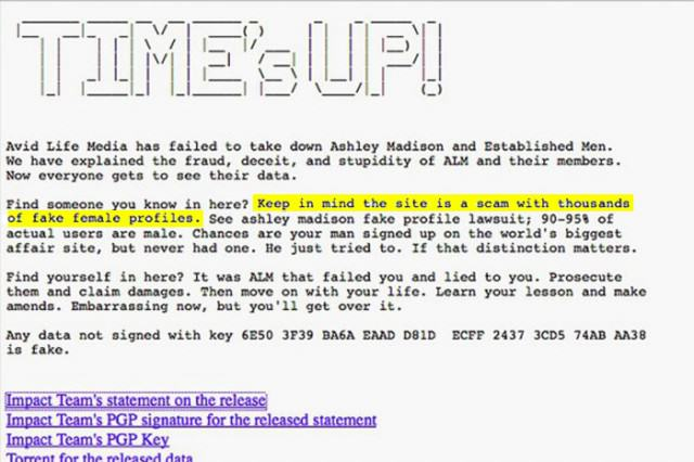 UNILAD Ashley15 640x426 Cheating Website Ashley Madison Turns Out To Be A F*cking Sausage Fest