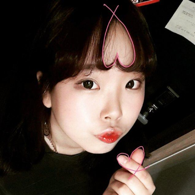 UNILAD Iou3rzlBVLR8 Turning Bangs Into Hearts Is Now A Thing In Korea Apparently