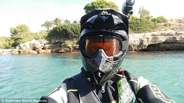 UNILAD LmRHDLSwUJ7ej Guy Travels From Finland To Africa On A Jetski Because His Son Asked If It Was Possible
