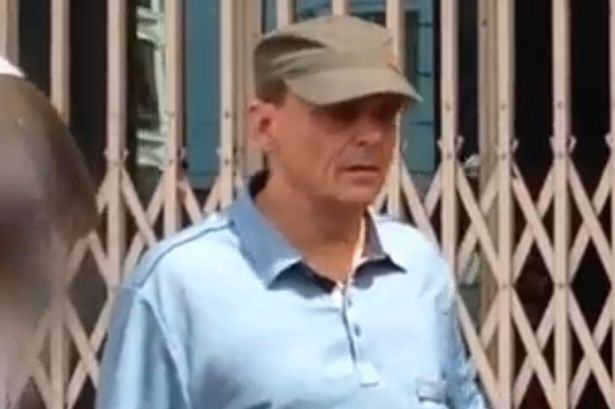 UNILAD Michael Jones photograhed in Cambodia2 British Paedophile Locked Up After Being Pictured Holding 11 Year Olds Hand