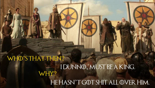 UNILAD Robin Edds BuzzFeed HBO 37 These Game Of Thrones Moments With Quotes From Monty Python Are Amazing