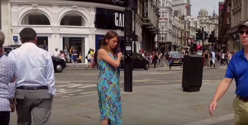 UNILAD Screen Shot 2015 08 17 at 11.20.137 This Woman Stripped Down To Her Underwear In Central London To Send A Powerful Message