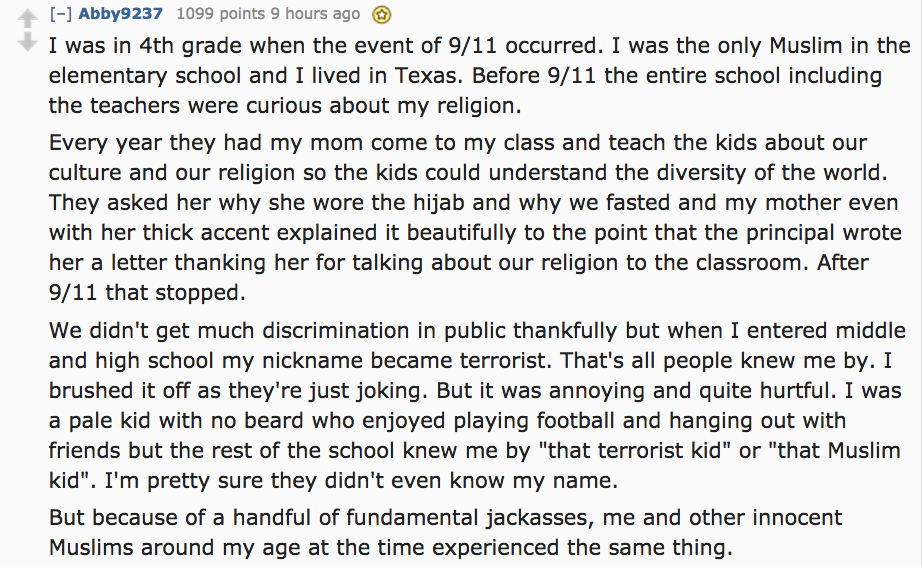 UNILAD Screen Shot 2015 08 25 at 12.25.215 Muslims Have Revealed The Drastic Ways Their Lives Changed After 9/11