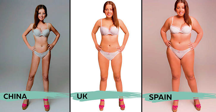 UNILAD body 1 27 These Ideal Body Types For Women Around The World Are Seriously Interesting To See
