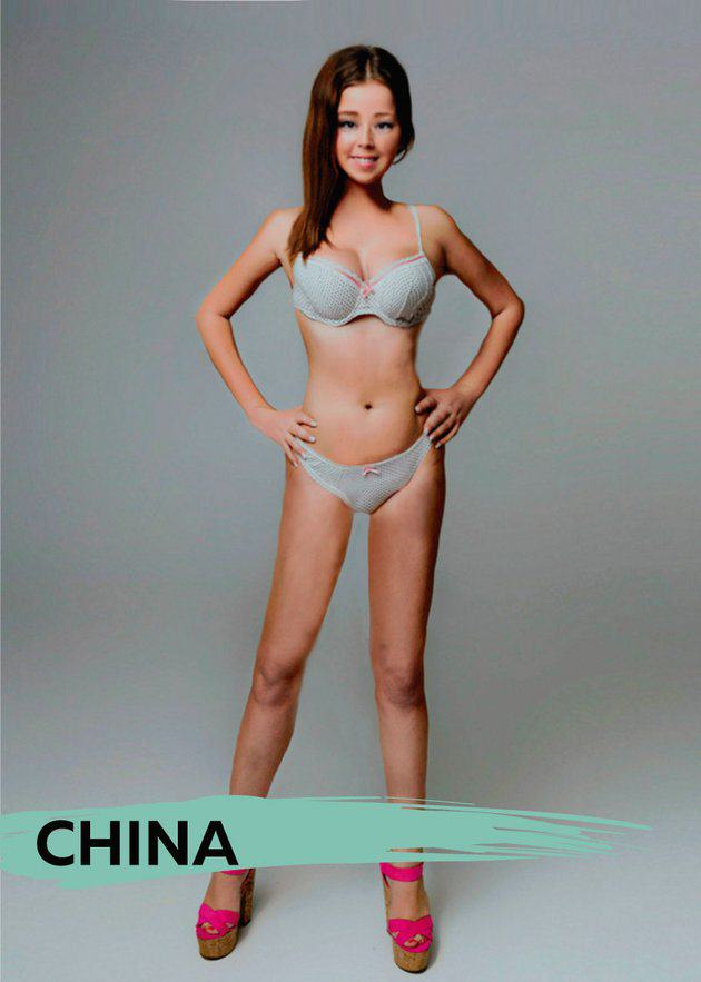 UNILAD chinab5 These Ideal Body Types For Women Around The World Are Seriously Interesting To See