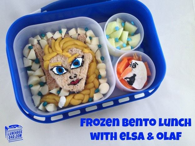 UNILAD frozen7 This Awesome Dad Makes The Best School Dinners Ever