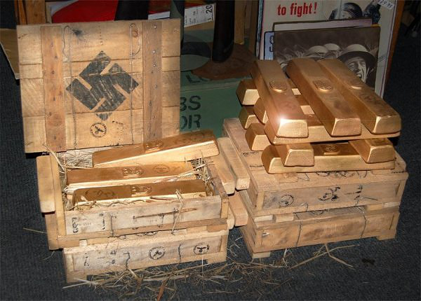 Train Allegedly Found In Poland Containing 300 Tonnes Of Nazi Gold UNILAD goldcore chart1 10 06 157