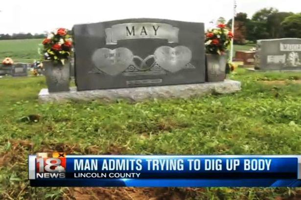 Drunk Man Digs Up Dead Father So He Can Argue With Him UNILAD grave2