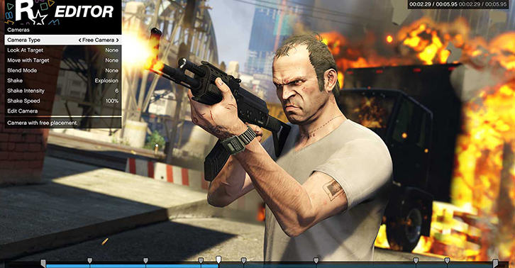 UNILAD gta27 Rockstar Editor Is Coming To Consoles In The Next Grand Theft Auto Update