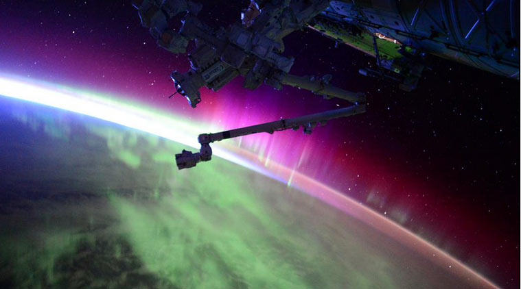 UNILAD northern lights 26 Brilliant Timelapse Footage Shows Northern Lights From Space