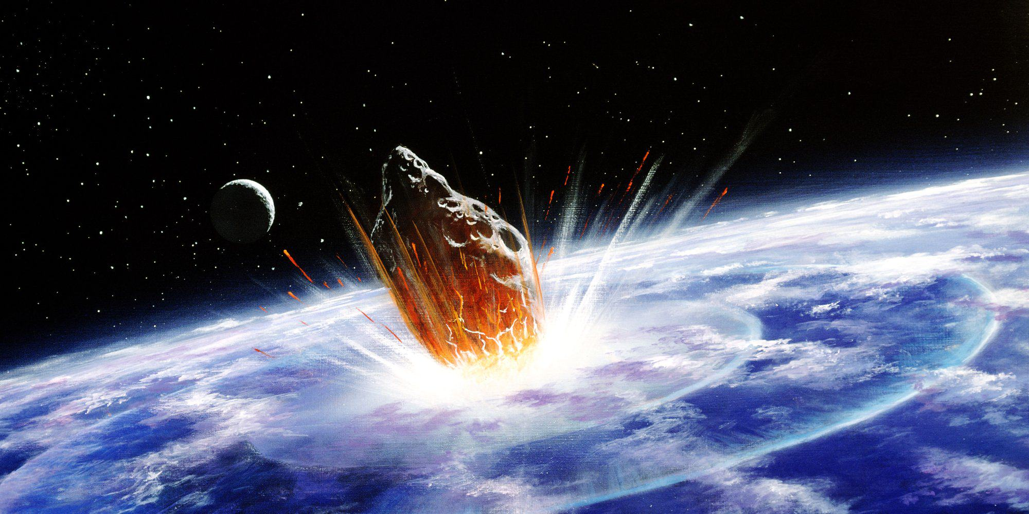 UNILAD o ASTEROID IMPACT 47 Another Asteroid Is Going To Destroy Earth, Again