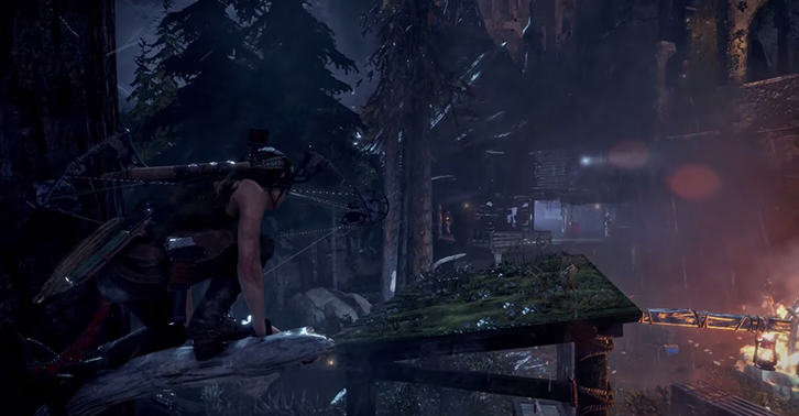 UNILAD raider44 This Rise Of The Tomb Raider Footage Shows Stealth Is Always An Option
